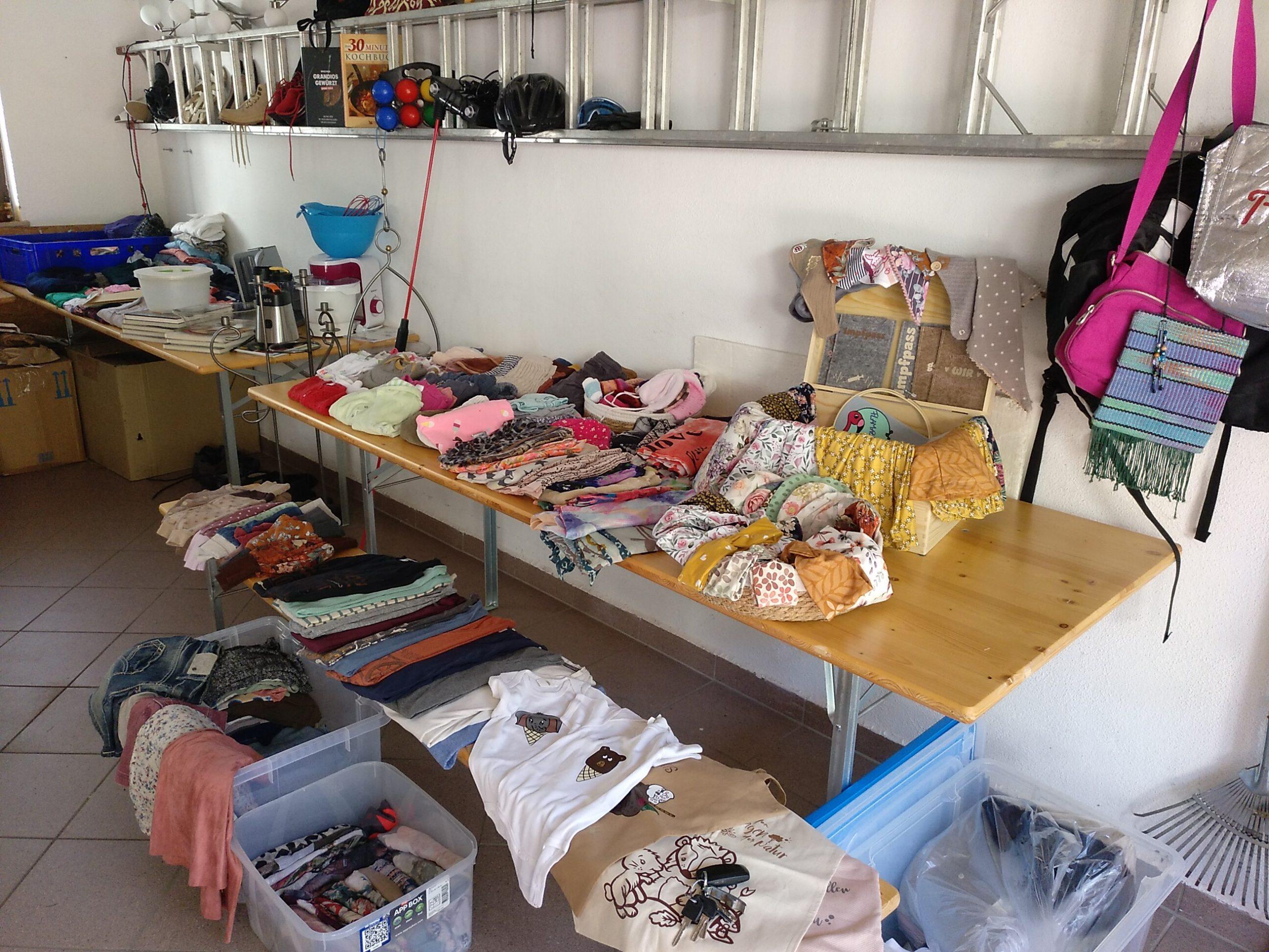 Rückblick Garagen- und Hofflohmarkt